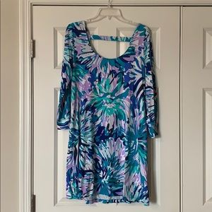 Lilly Pulitzer Emma Dress Off Tropic Print